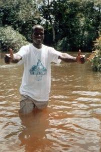 Pastor Joseph Baptismal Service Yacouba Tribe