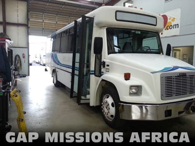 GAP Africa Mission Bus