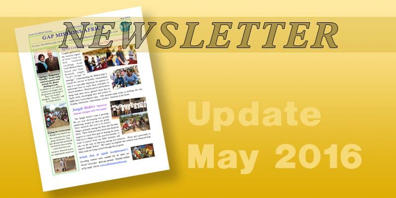Newsletter – 2016-05