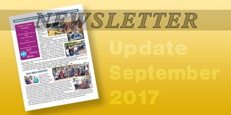 Newsletter – 2017-09