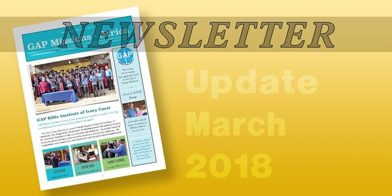 Newsletter – 2018-03