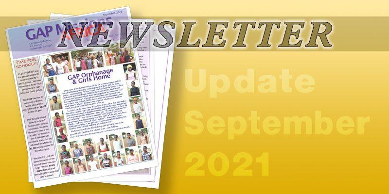 Newsletter – 2021-09